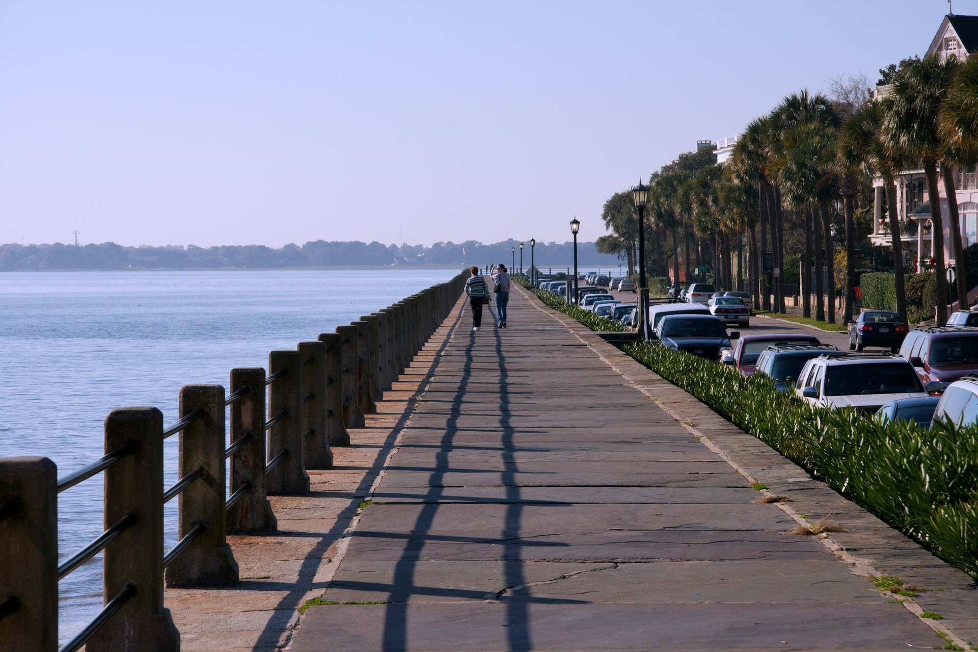 all charleston travel guides will recommend a walk on the battery