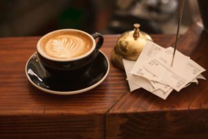 coffee ready to be served at one of the best charleston coffee shops