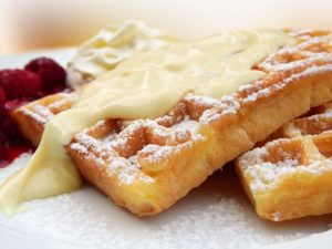 waffles for sunday brunch in charleston, sc