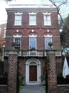 holidays at the nathaniel russell house in downtown charleston sc