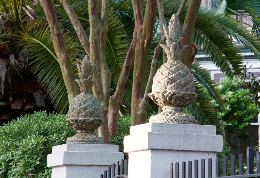 pineapples, the charleston and southern symbol of hospitality, are present as icons throughout most of these romantic historic district charleston bed and breakfasts