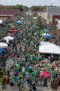st patricks day in park circle, north charleston, sc