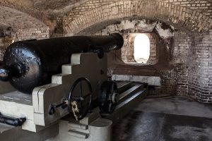 charleston travel tips: the cannons at fort sumter aren't going anywhere soon. feel free to check them out next time.